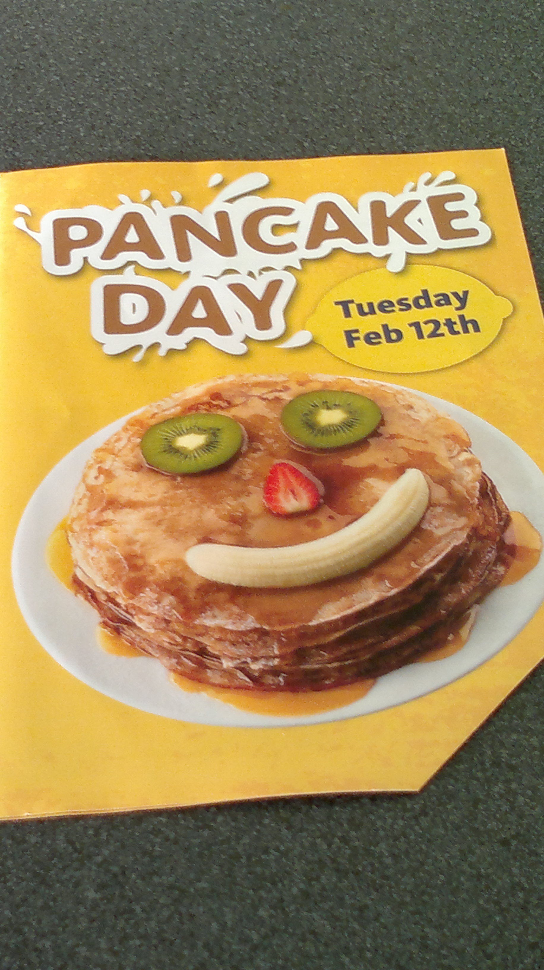 Shrove Tuesday, also known as Pancake Day in Britain