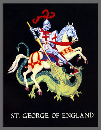 St. George and dragon